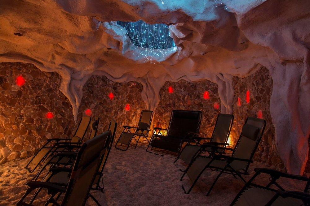 Unplug Inside Montauk Salt Cave